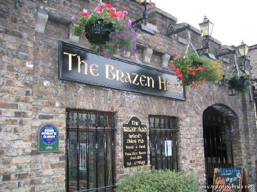 The Brazen Head Is Officially Irelands Oldest Pub Dating Back To Famous For Live Irish Music Sessions Award Winning Restaurant