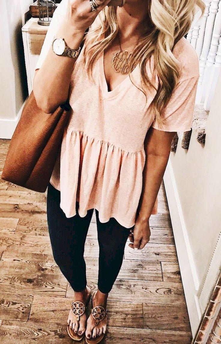 51 Hübsche Sommer-Outfit-Ideen zum Nachmachen #frauenmode # #PrettySummerOu …