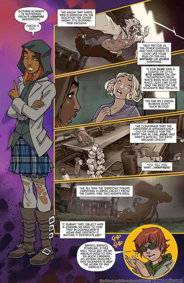 Gotham Academy Annual 01 (2016)   Viewcomic reading comics online for free