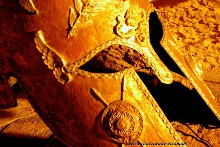 Elmo Spartano, ipogeo de Beaumont Bonelli Bellacicco (Taranto Underground). Borgo Antico di Taranto: the Spartan City