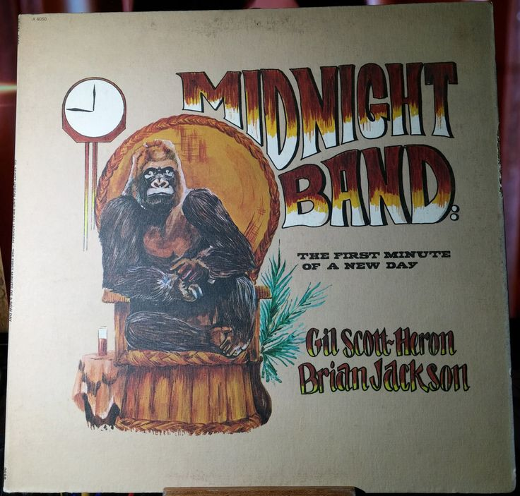 Gil Scott-Heron Brian Jackson Midnight Band The First Minute Of A New Day Arista A 4030 Vinyl LP Album Stereo