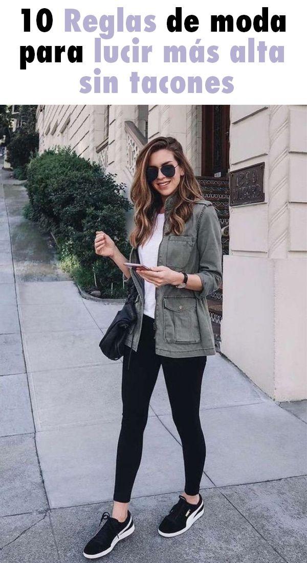 10 Reglas de moda para lucir más alta sin tacones