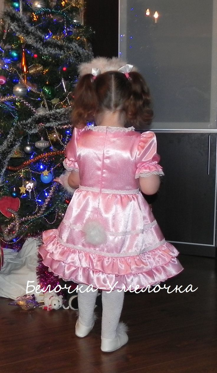 Костюм-платье зайчика