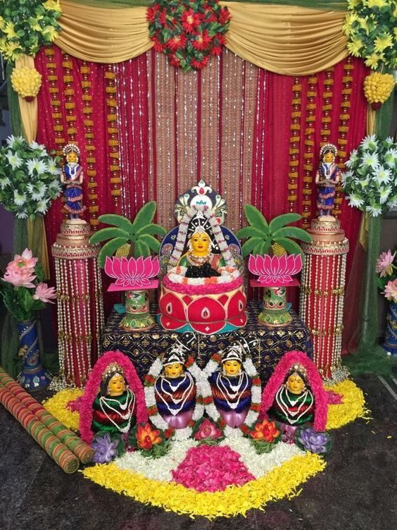Pin By Vishnu Vishal On Varalakshmi Vratham Goddess