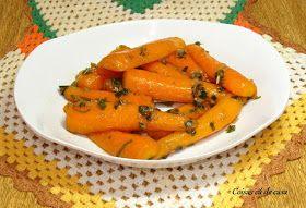 Coisas cá de casa: Cenouras caramelizadas