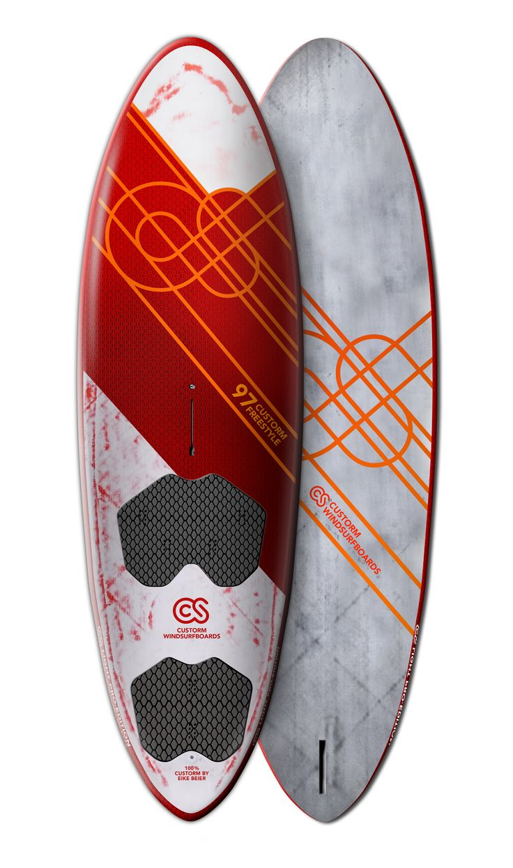 Surfboard Design for Custorm  Freestyle Windsurfboard 97L