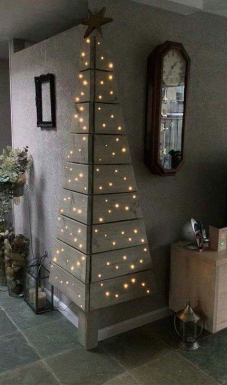 Xmas tree #Tannenbaum abstrakt #Lichterketten #Weihnachten
