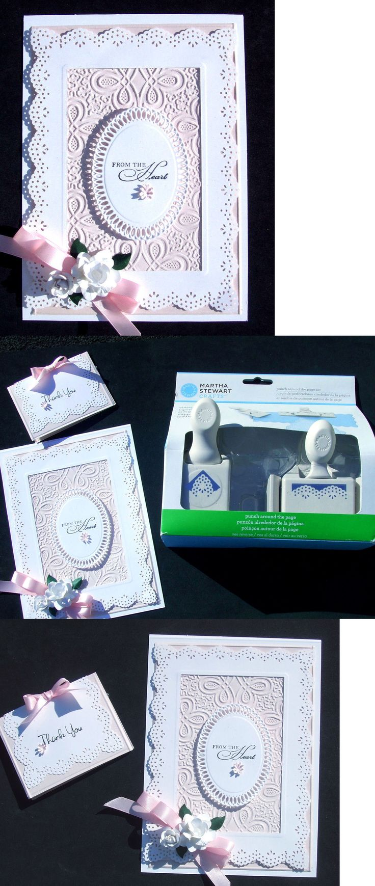 Paper Punches 11793: Rare Martha Stewart Vintage Doily Edge And Corner Punch New In Box Breath-Taking -> BUY IT NOW ONLY: $39 on eBay!