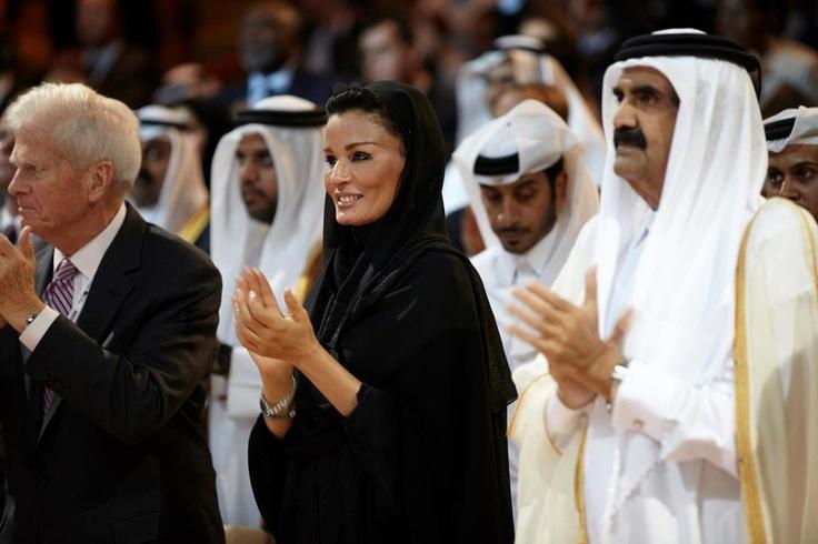 Her Highness Sheikha Moza bint Nasser - Chairperson, Qatar Foundation