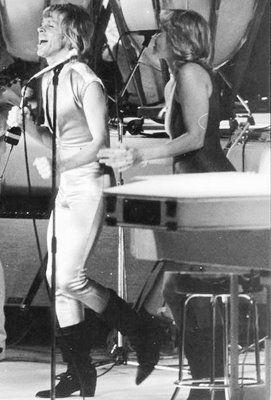 Björn Ulvaeus and Agnetha Fältskog ABBA