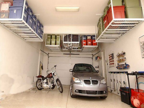 die besten 25 overhead garage lagerung ideen auf. Black Bedroom Furniture Sets. Home Design Ideas