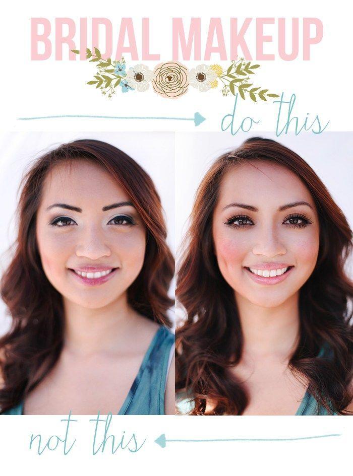 Makeup for brown eyes, brown hair
