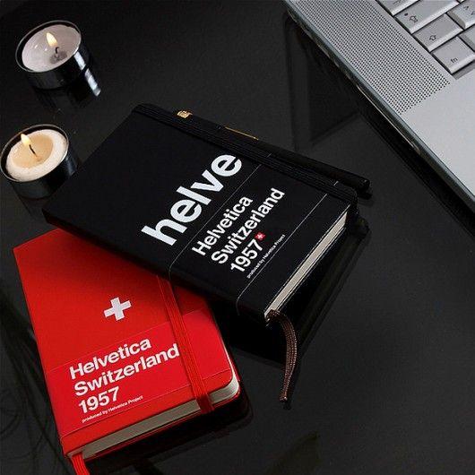 Helvetica Switzerland Moleskin