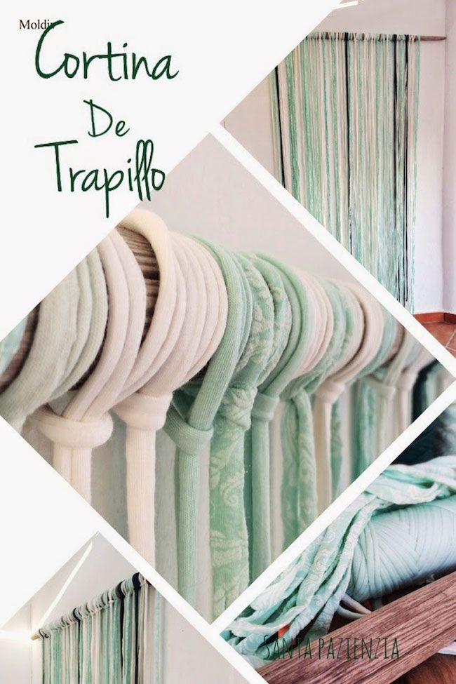 Ideas para decorar con Trapillo | SANTA PAZIENZIA
