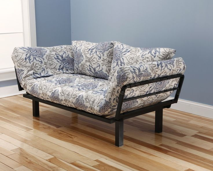 Spacely Futon Lounger In Genoa Fabric By Kodiak
