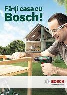 """""""Fă-ți casa cu Bosch!"""" by GAV - campanie adresată pasionaţilor de meşterit şi de grădinărit"""