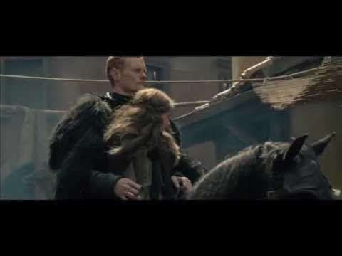 """scene from """"Skammerens datter"""" - the ride to Dunark"""