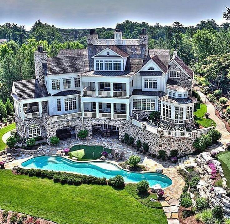 292 Best Rich Houses With High End Landscaping Images On