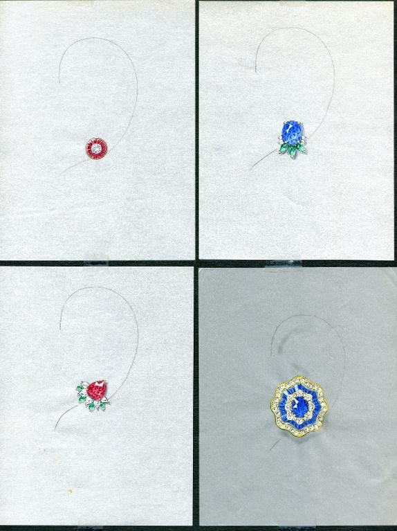Jewelry: 4 More Earring Designs