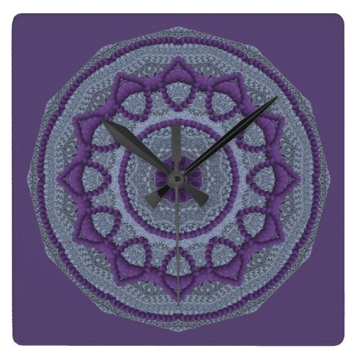 Purple Gray Mandala