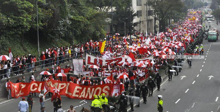 ¡ Feliz Cumpleaños Independiente Santa Fe !