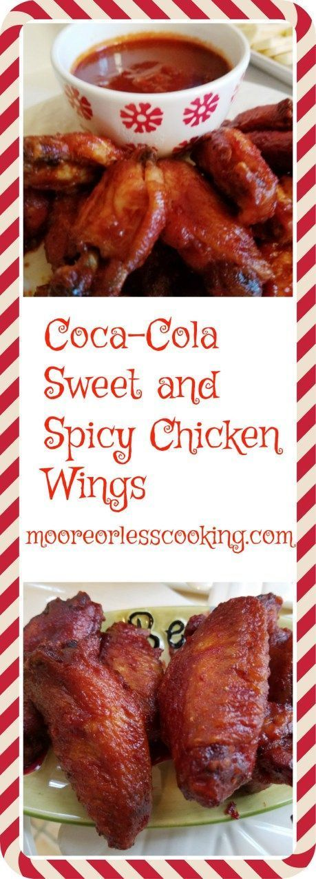 Coca-Cola Sweet and Spicy Chicken Wings Coca-Cola Sweet and Spicy Chicken  Wings