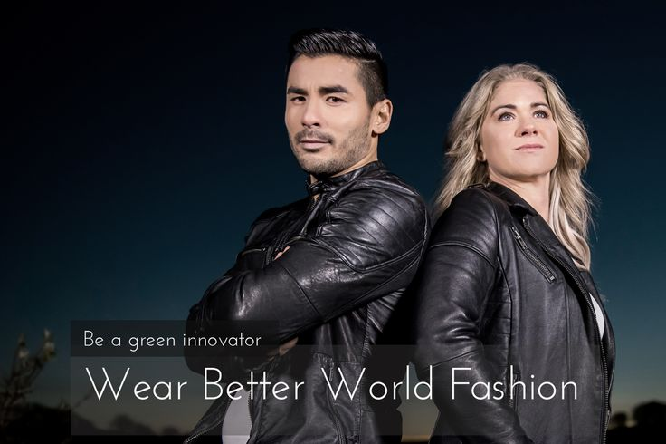 100% sustainable leather jackets from Better World Fashion. <3  Get a huge discount on our EARLY BIRD offers :)  https://www.kickstarter.com/projects/1159263443/can-your-jacket-talk-ours-can-zero-trash-buy-back?ref=discovery