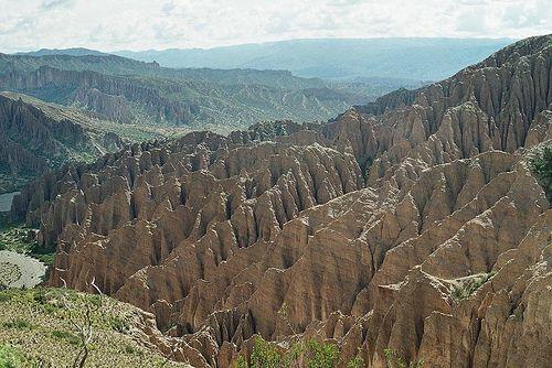 like a glacier made of stone, Bolivia (analog photography)