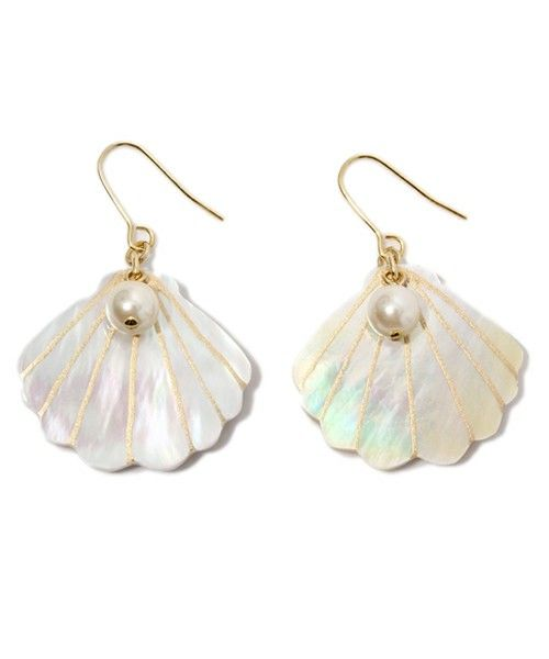 Mermaid pearls.  Aka Ariel earrings, Roo!  I have a student named Arielle. I asked her if you pronounce it the Sebastian way. Teehee.