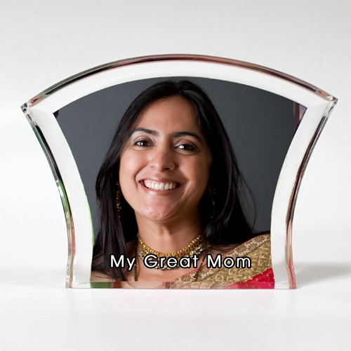 """Rs.925.00 / $16.65 Shipping Charges Free Shipping To India(IND) Product Details  Present this Poly Crystal to your mother on this Mother's day and show your affection and love. Please send us 1 good photo. 4 Working Days DIMENSIONS :5"""" x 4"""" http://www.giftsomeone.com/photo-poly-crystal-mom9-/product_info.php/products_id/4579"""