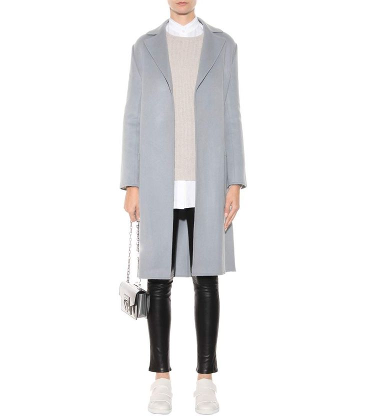 mytheresa.com - Wool and cashmere coat - Luxury Fashion for Women / Designer clothing, shoes, bags