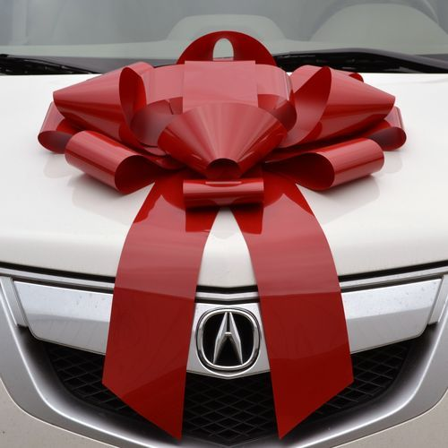 9 Best Giant Car Bows Images On Pinterest Christmas Decorations