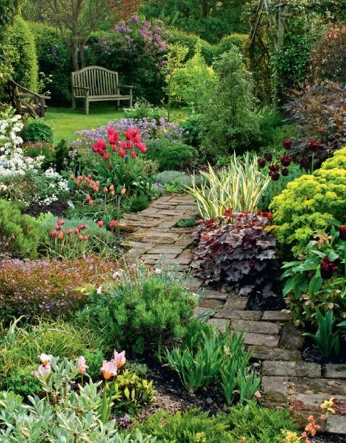 Jardin anglais.