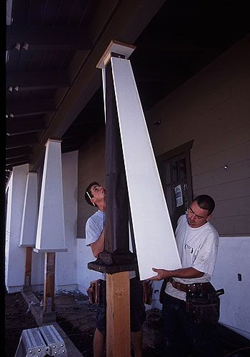 Making Tapered Square Columns Paint Colors In 2019