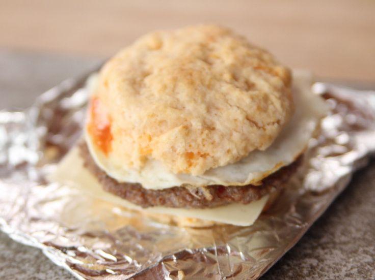 Breakfast Biscuits recipe from Ree Drummond via Food Network (Season 10/Cooking, Feeding, and Eating)
