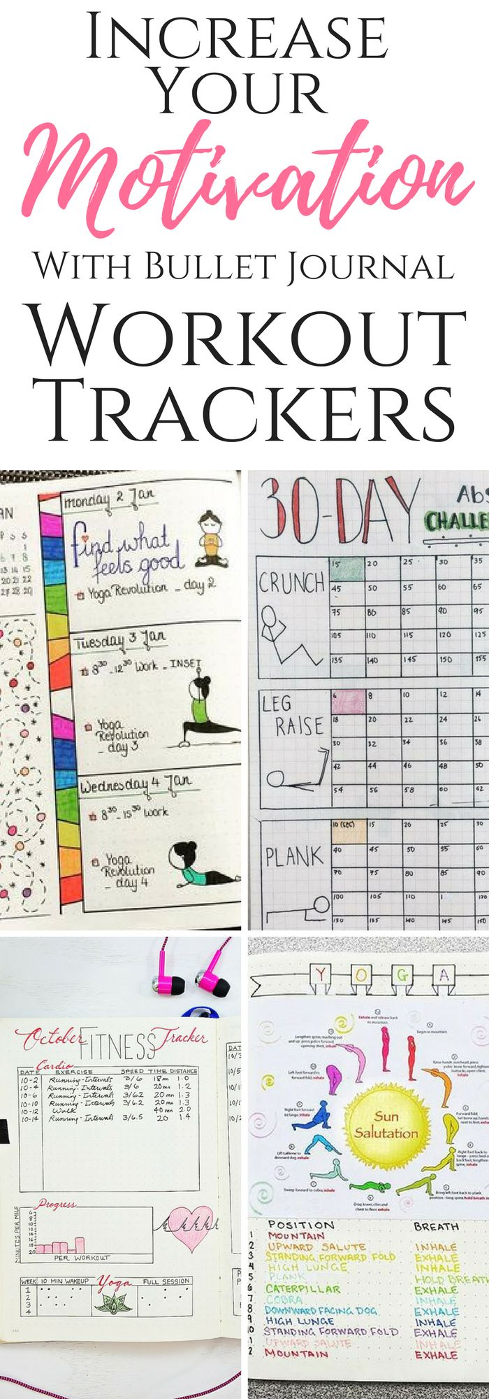 19 Best Bullet Journal Ideas for Workout Trackers and Weight Loss