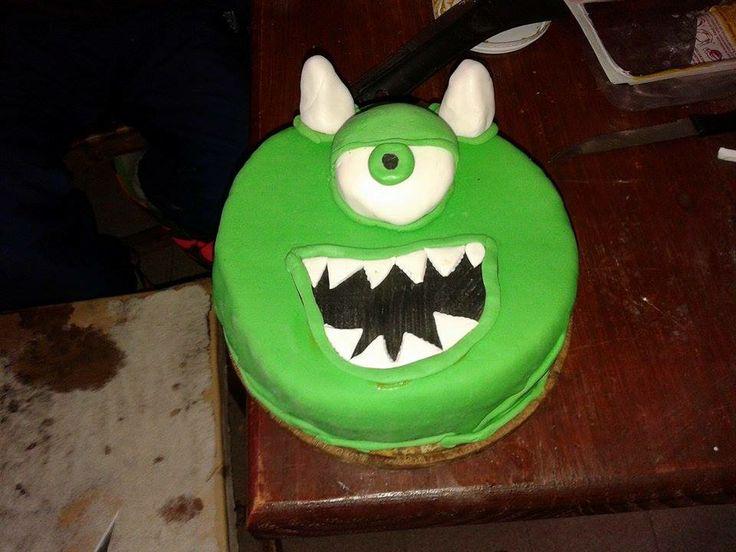 torta mike#monster