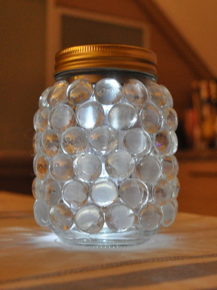 my first attempt at making a kilner jar lamp search on pinterest