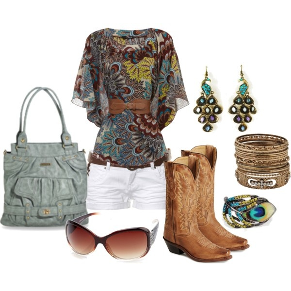 Love it with the cowboy boots!  I have the same ones :)  Peacock with Timi & Leslie MOPS Friendly, created by jewhite76 on Polyvore
