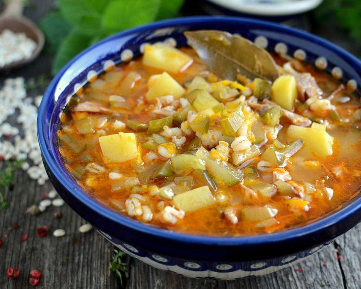 Rassolnik czyli zupa ogórkowa po rosyjsku