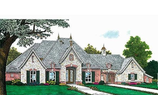 17 best images about porte cochere on pinterest house for French country house plans with porte cochere