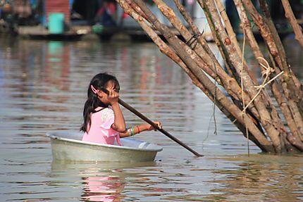 Barque Cambodgienne