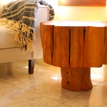 Purchase Patagonian Salvaged Cypress Side Table From Patron Design On  OpenSky.