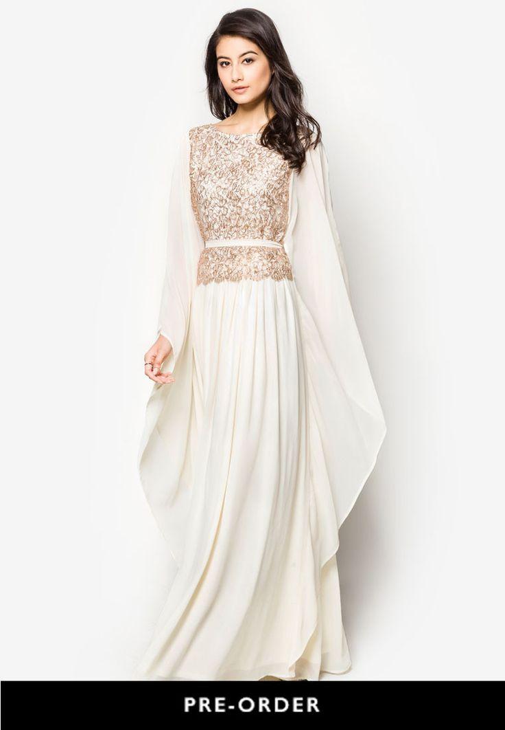 Zalia Embellished Kaftan Dress Online | ZALORA Malaysia