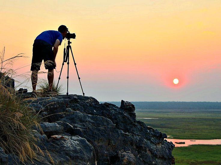 Ubirr Region, Kakadu National Park, Northern Territory - famous for amazing sunsets and aboriginal rock art. A #hooroo #SecretSpots in Australia.