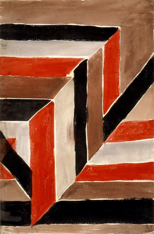 Color Moves: Art and Fashion by Sonia Delaunay | a pattern a day
