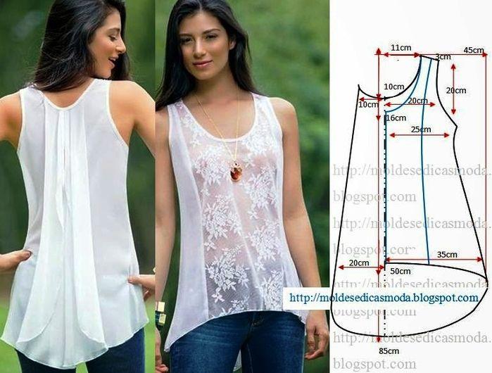 Шьем красивые блузки » Женский Мир