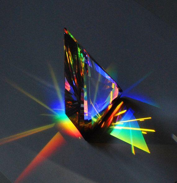 542 Best Crystal Prisms Images On Pinterest Glass Art