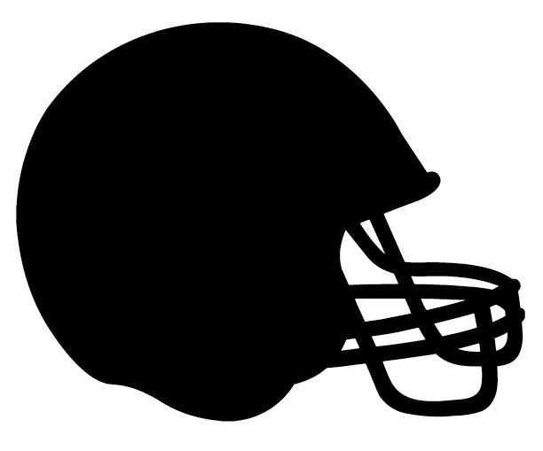 Football Silhouette Cutter Files Football Silhouette