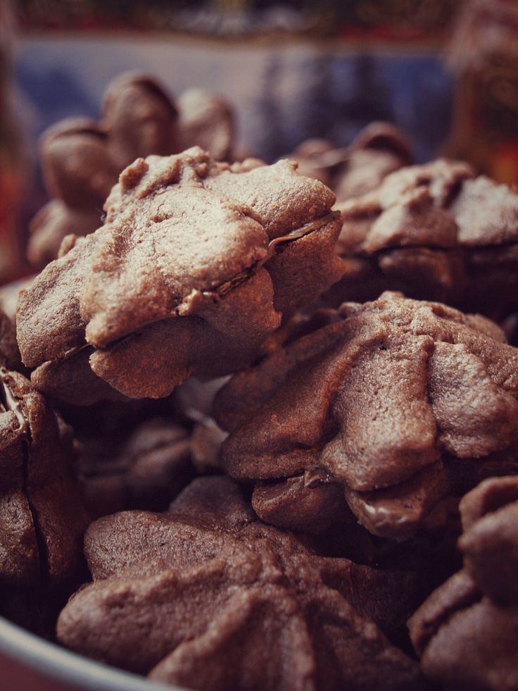 Nugat Tuffs - die besten Nutella Weihnachtskekse der Welt